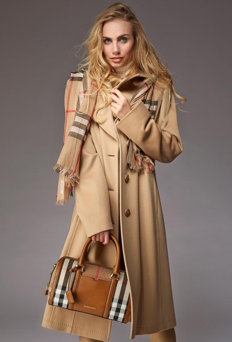 Пальто женское бежевое Teresa Tardia