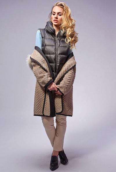 Модный женский дафлкот с капюшоном Visconf/Violanti
