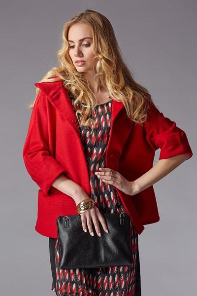 Укороченное пальто-оверсайз Teresa Tardia