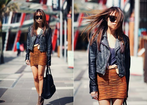 Женские кожаные куртки 2011 года на