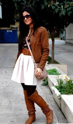 Тренды в кожаных куртках весна 2011
