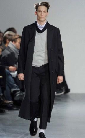 Осеннее мужское пальто 2011 от Acne.