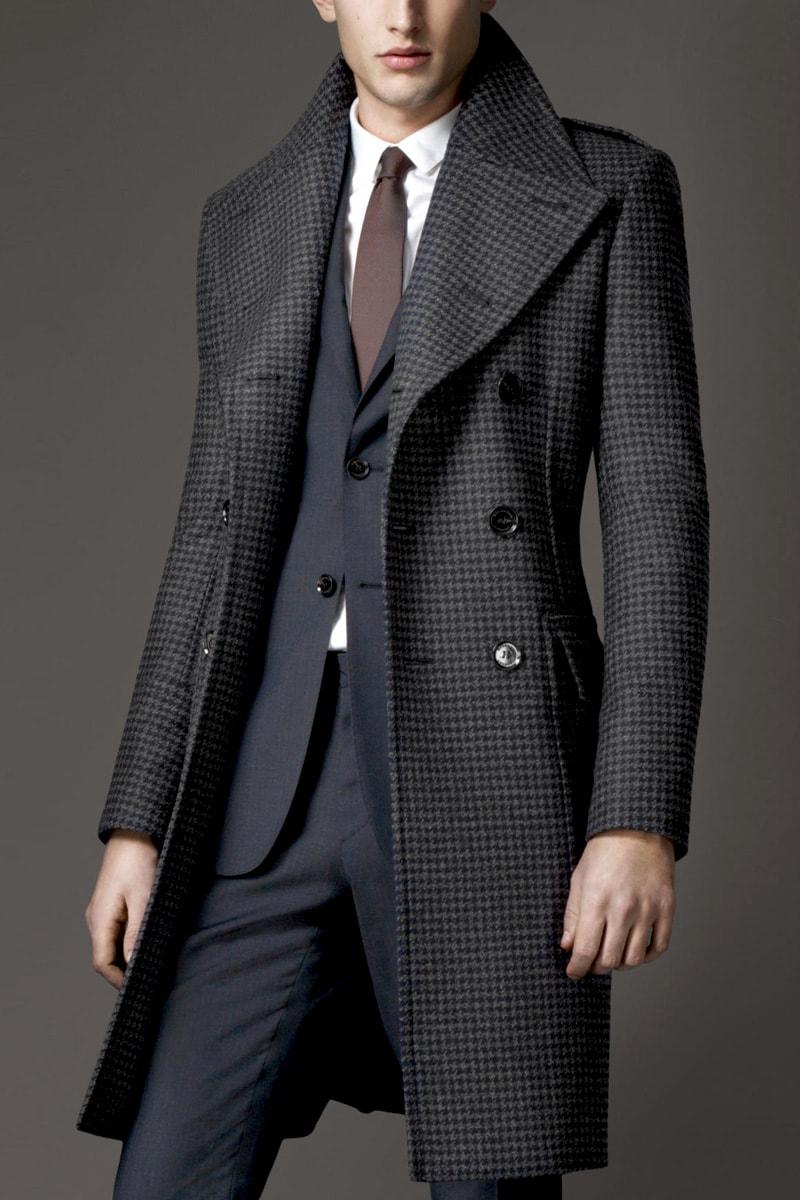 Mens fashion wool coat 73