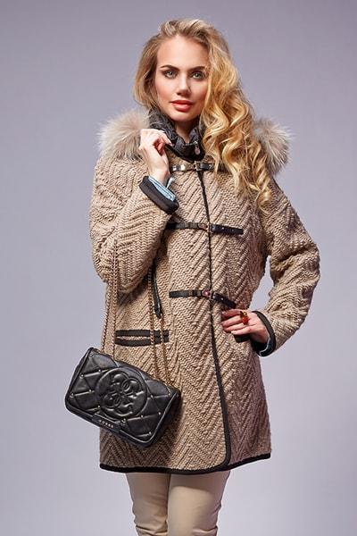 Модное осеннее женское пальто Violanti