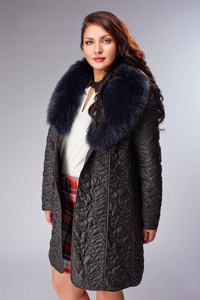 Осеннее женское пальто на размеры 50, 52, 54