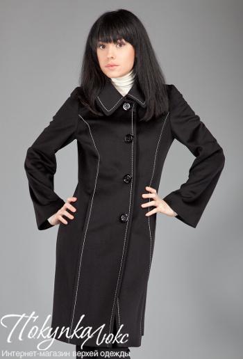 Классическое женское пальто без пояса Teresa Tardia