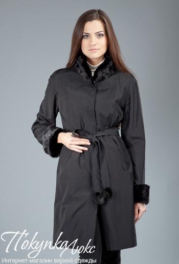 Классическое женское пальто на меху Garioldi