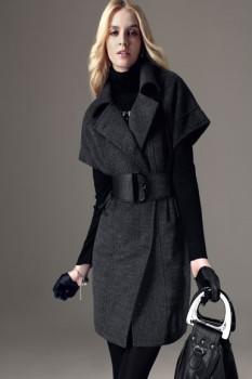 Пальто-кимоно с укороченными рукавами для женщин