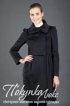 Женское осеннее пальто в романтическом стиле