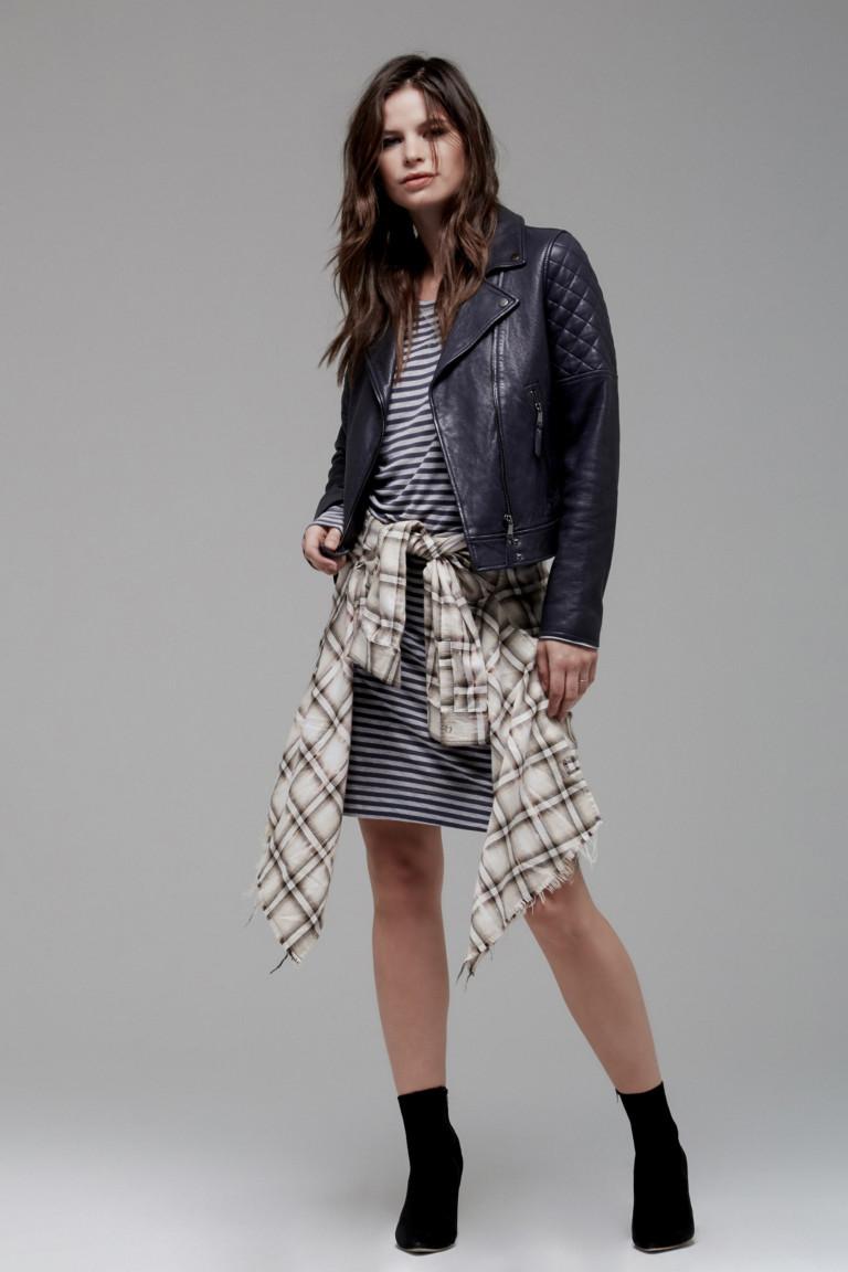 Кожаные куртки модные тенденции фото