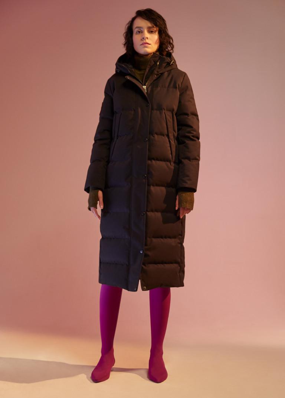 Мода зима 2018 пуховики фото женская