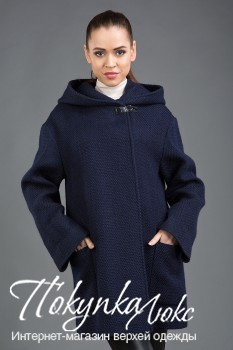 Женское пальто с капюшоном BELLA BICCHI