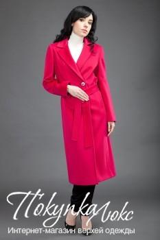 Ярко-малиновое пальто Teresa Tardia