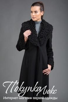 Классическое пальто Teresa Tardia с оригинальной отделкой