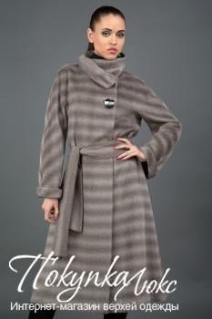 Женское пальто в полоску Teresa Tardia