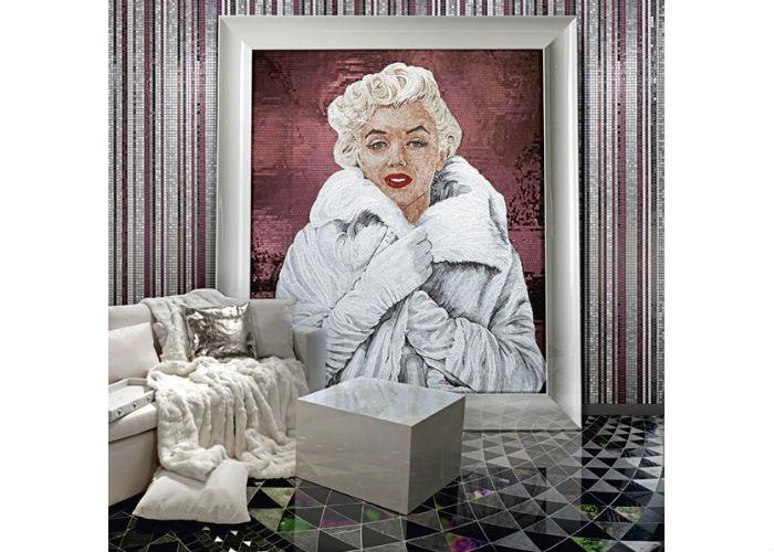 Портрет Мэрилин Монро в коллекции итальянской фабрики по изготовлению мозаики