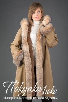 Пальто на меху Rolf Schulte