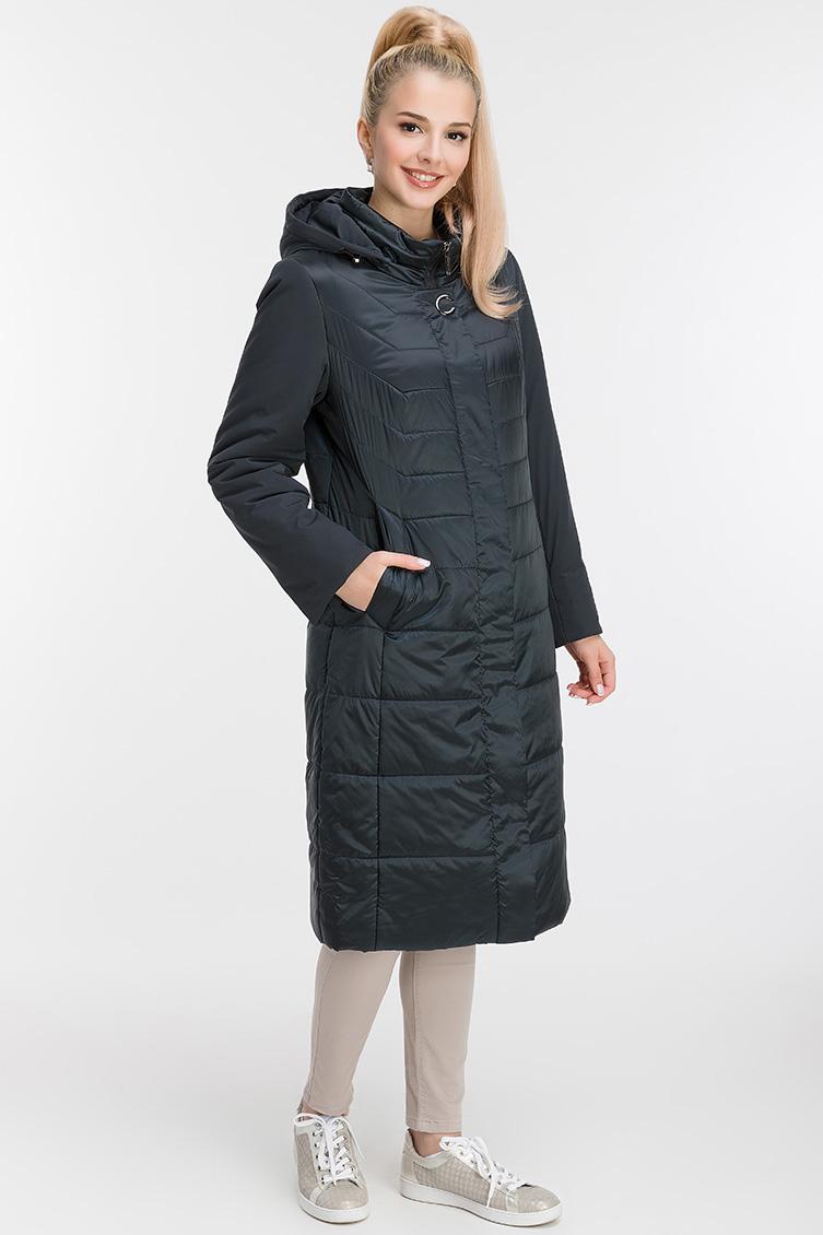Женское осеннее пальто на синтепоне фото