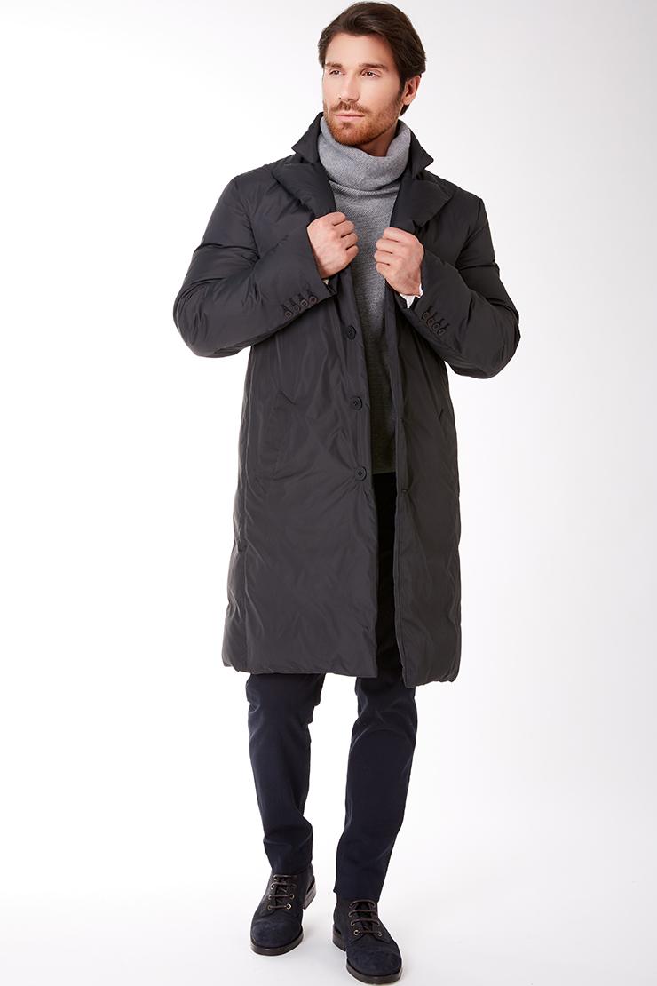 Купить со скидкой Мужское пальто-пуховик с мембраной