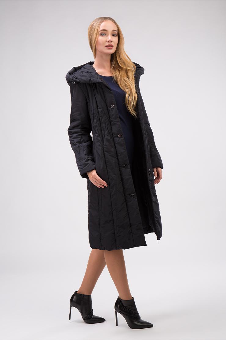 Длинное женское пальто приталенного кроя для осениПальто<br>Длинное женское пальто приталенного кроя для осени<br>Цвет: шоколад; Размер: 44, 48, 50, 52, 54, 60; Состав: 100% полиэстер, подкладка - 100% полиэстер, утеплитель - синтепон (полифил); Материал: 100% полиэстер, подкладка - 100% полиэстер, утеплитель - синтепон (полифил);