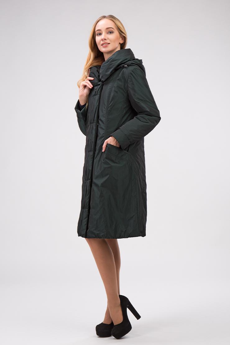 Купить со скидкой Приталенное финское болоневое пальто на осень