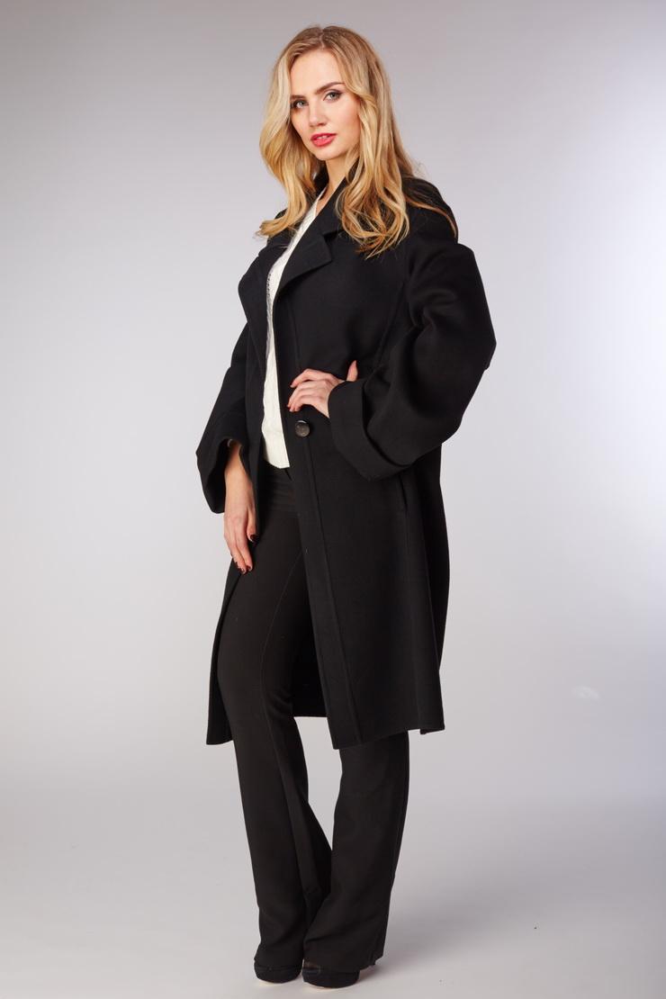 Купить со скидкой Женское пальто с запахом на высокий рост