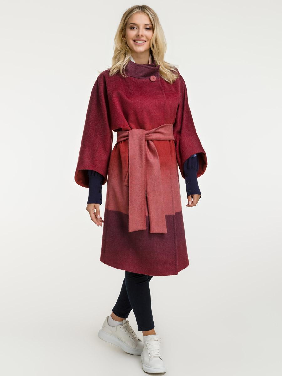 Шерстяное стильное пальто на веснуПальто<br>Шерстяное стильное пальто на весну<br>Цвет: красный; Размер: 40, 42, 44; Состав: 97% шерсть, 3% кашемир; подкладка 100% вискоза; Материал: 97% шерсть, 3% кашемир; подкладка 100% вискоза;