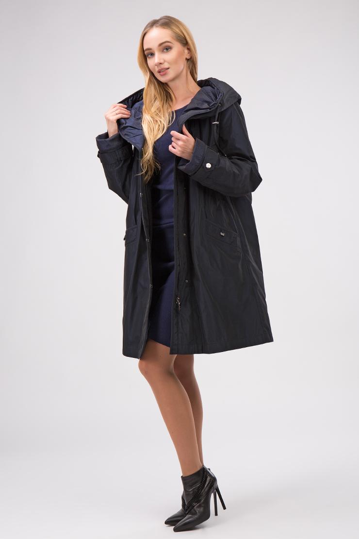 Женское демисезонное финское пальто средней длины