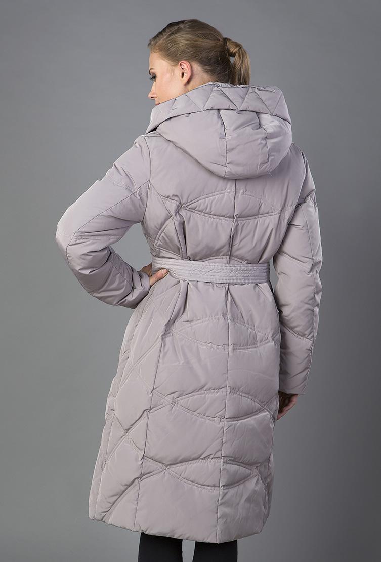 Купить со скидкой Женское пальто на пуху для зимы с капюшоном