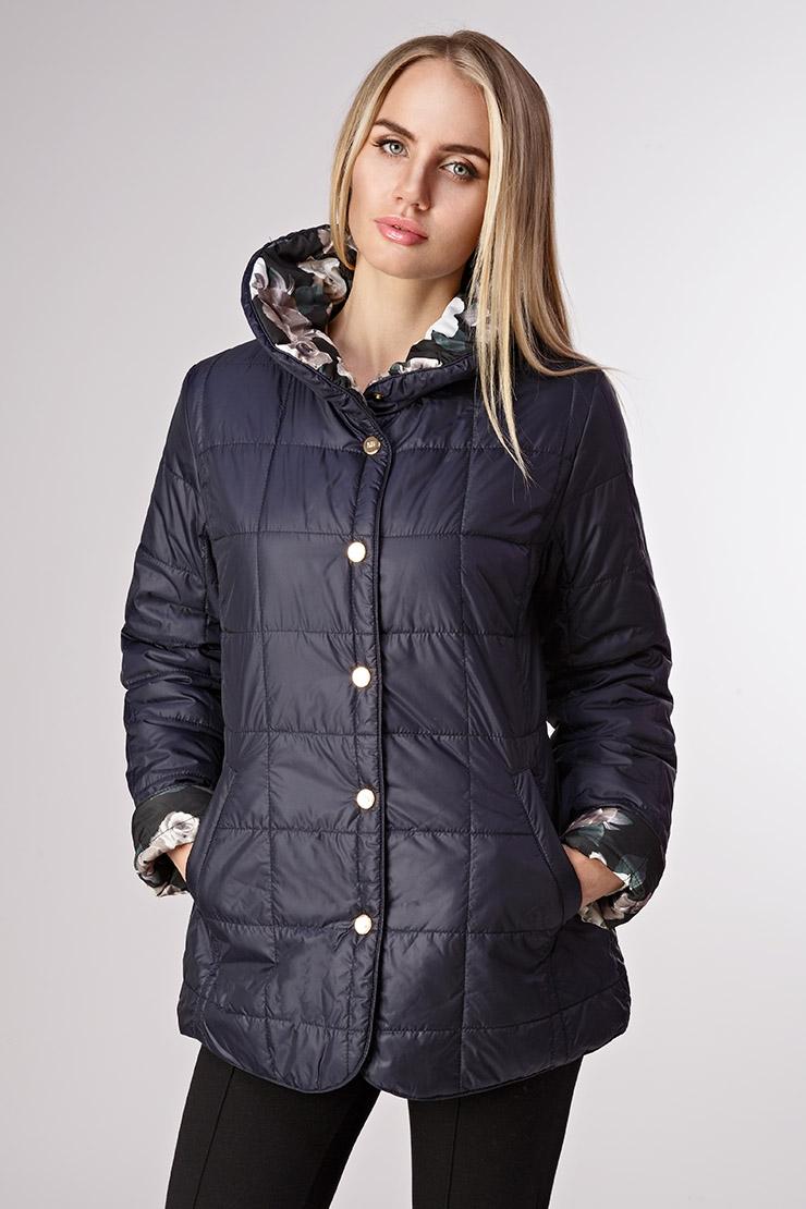 Купить со скидкой Осенняя стеганая женская куртка на синтепоне