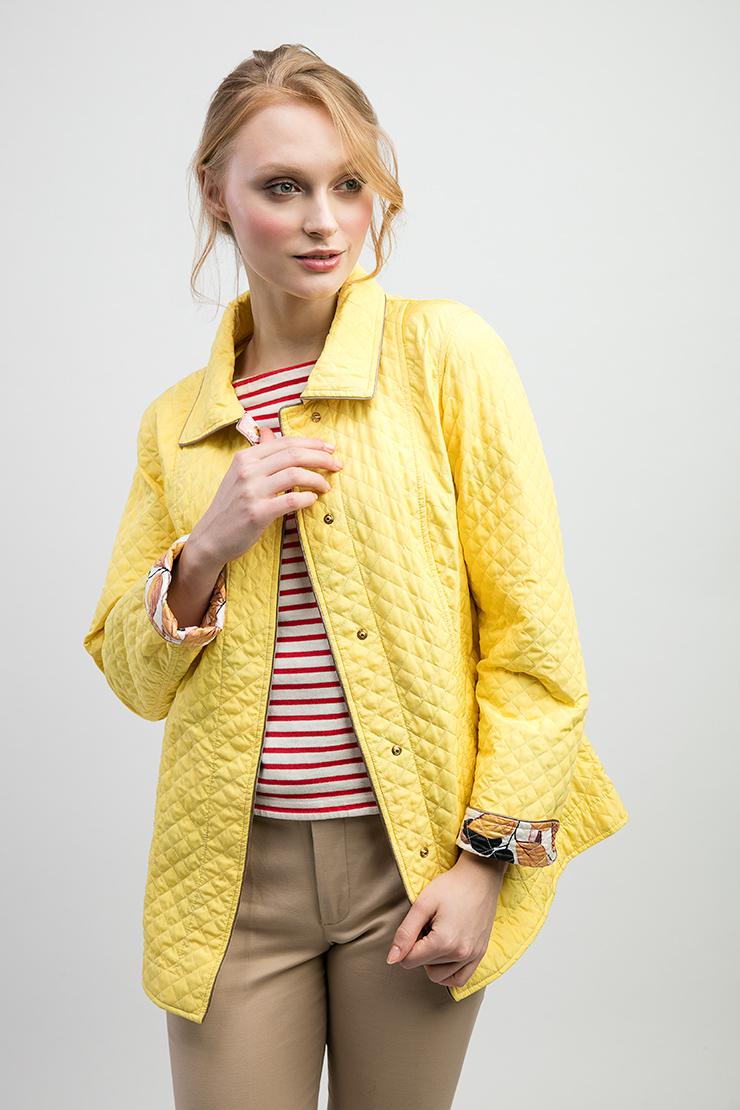 Куртка-ветровка из Италии J.N.C. 6251/N10-желтый