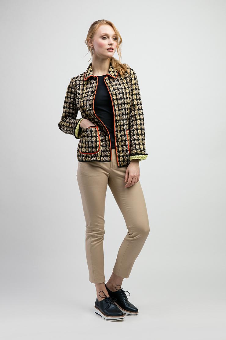 Женская куртка короткая из Италии