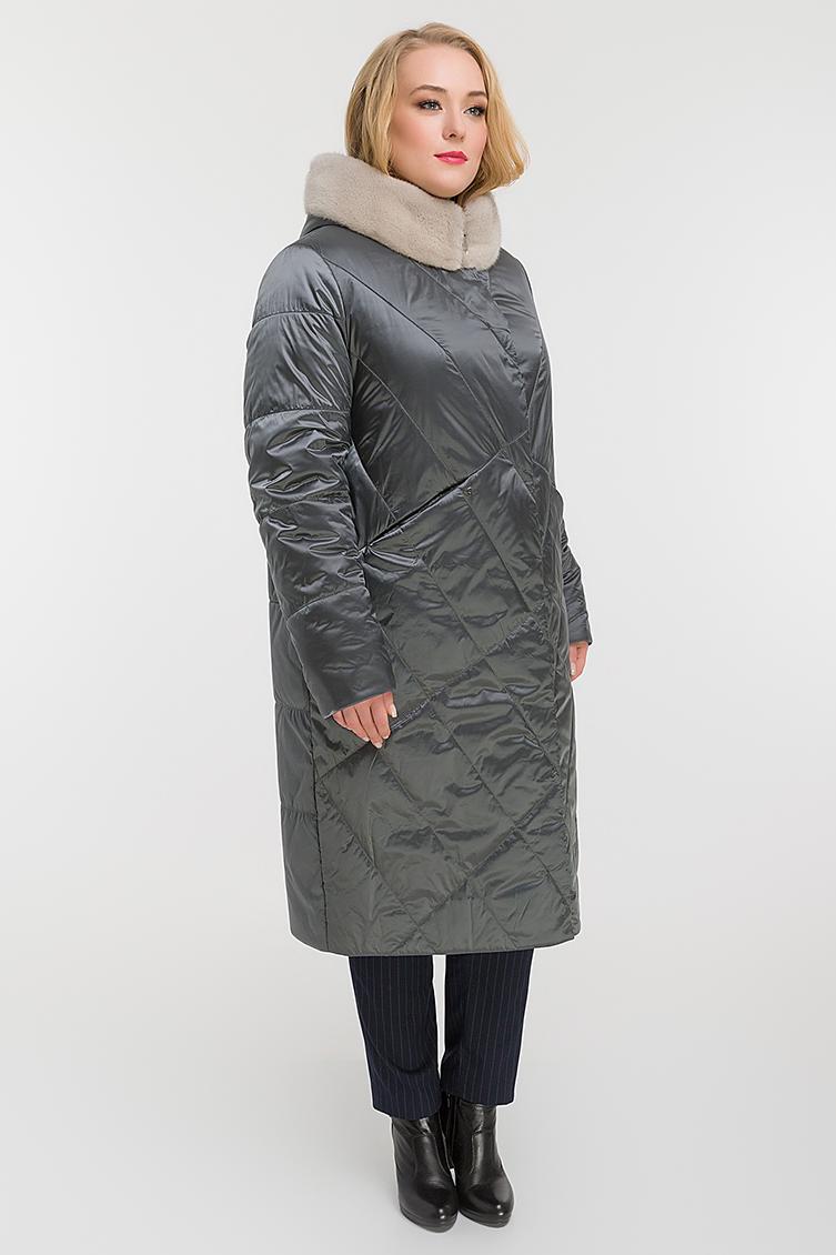 Длинное прямое демисезонное пальто для больших размеров фото
