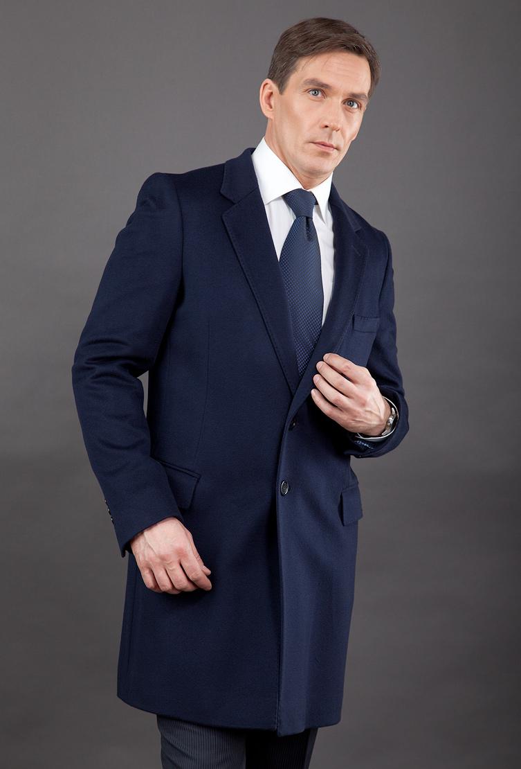 Купить со скидкой Классическое пальто на высоких мужчин
