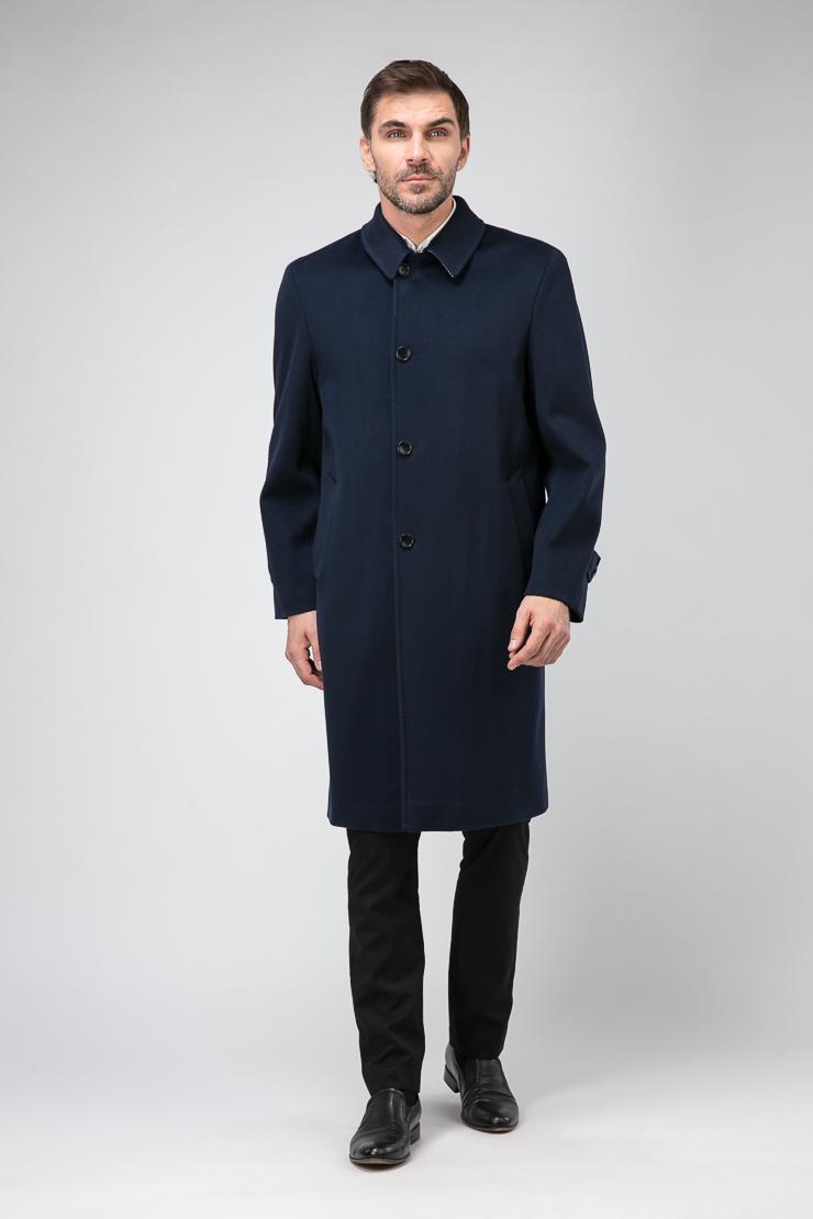 Демисезонное классическое пальто из Италии для мужчин фото