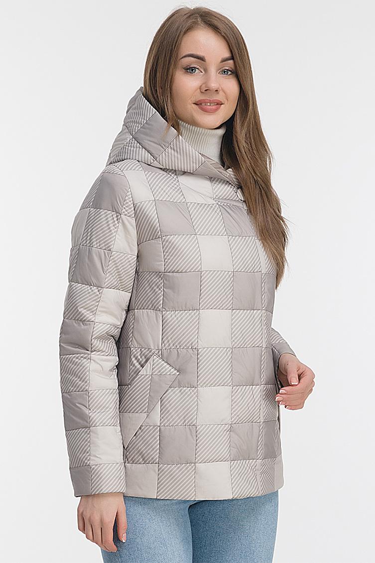 Стильная утепленная куртка с капюшоном фото
