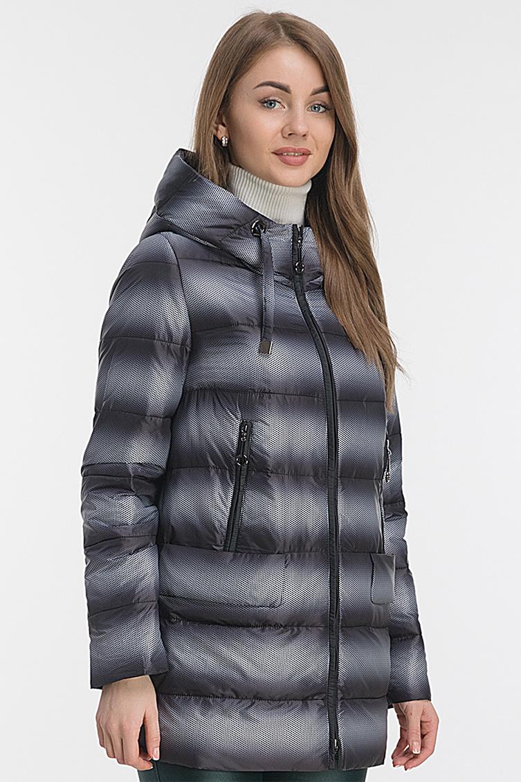Удлиненная куртка на осень с капюшоном фото