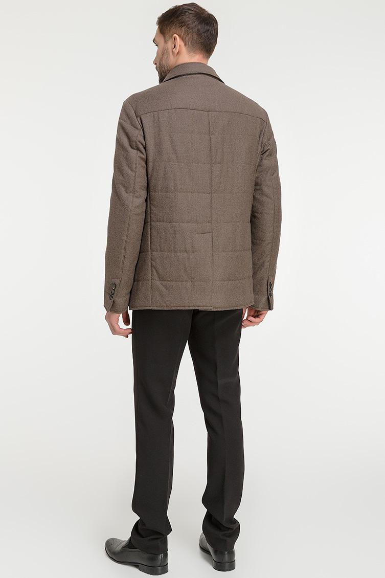Короткое мужское демисезонное пальто фото