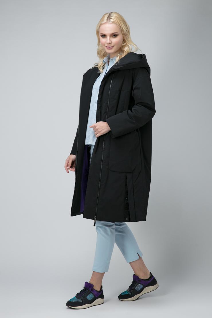 Стильное женское пальто на синтепоне фото