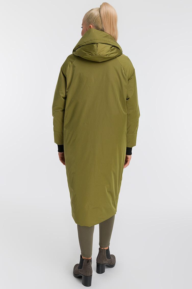 Демисезонное длинное молодежное пальто оверсайз
