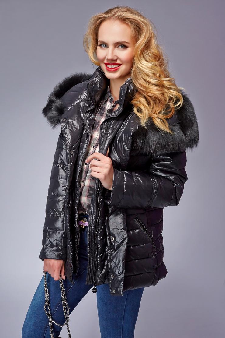Купить со скидкой Куртка на синтепоне Rolf Schulte с мехом