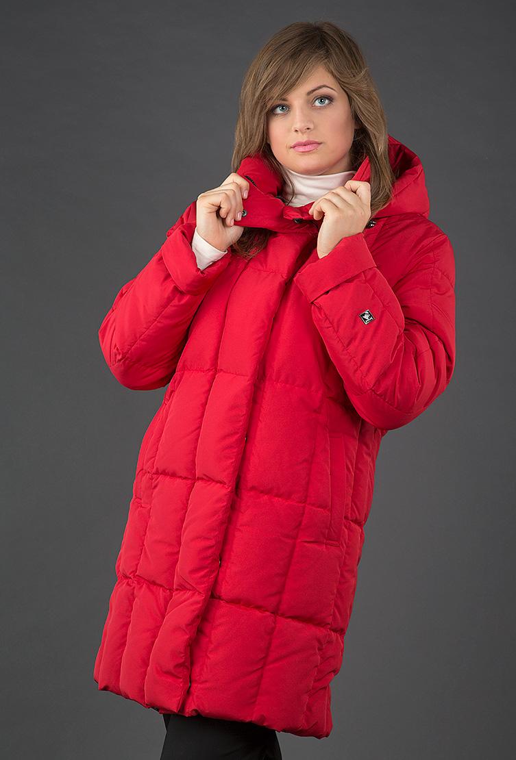 Красный женский пуховик Joutsen прямого силуэтаПуховики<br>Красный женский пуховик Joutsen прямого силуэта<br>Цвет: красный; Размер: 46, 48, 50, 56; Состав: 100% полиэстер, подкладка - 61% полиэстер, 39% полиамид, наполнитель - пух арктических гусей  (EN 12934); Материал: 100% полиэстер, подкладка - 61% полиэстер, 39% полиамид, наполнитель - пух арктических гусей  (EN 12934);