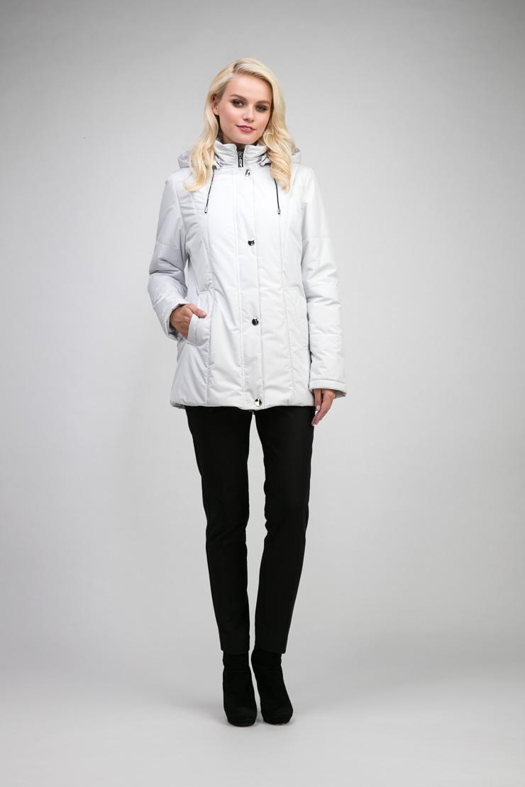 Демисезонная утепленная молодежная куртка с капюшоном фото