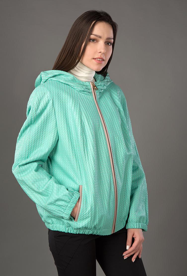 Модная легкая кожаная женская куртка из Турции фото