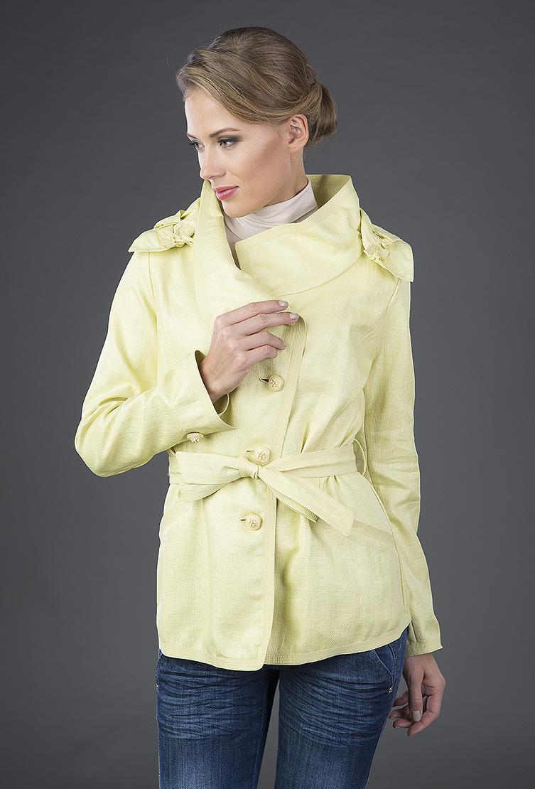 Женская ветровка Visconf желтого цвета фото