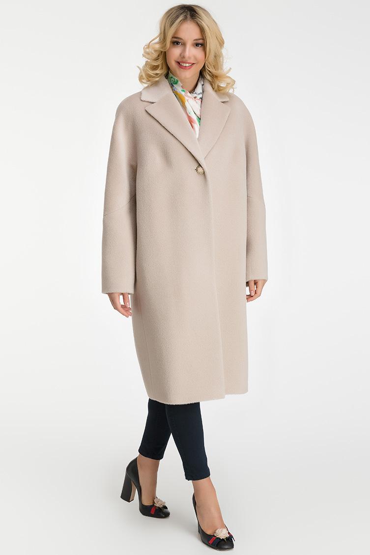 Российское пальто из бэби альпака с английским воротником фото