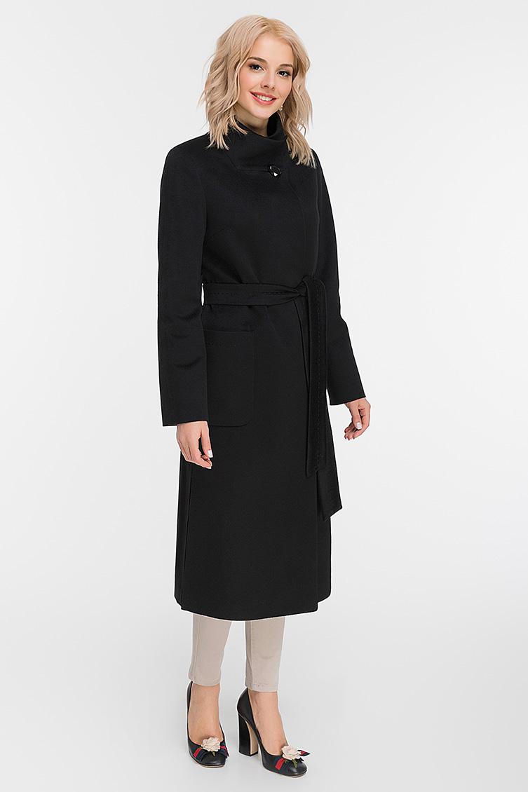 Стильное женское длинное пальто без меха, Elisabetta