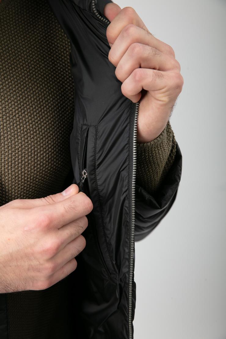 Финский пуховик без меха для мужчин