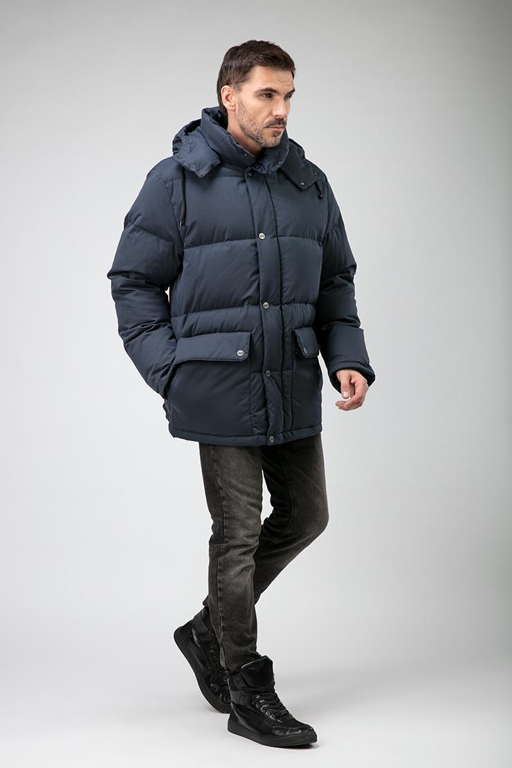Купить со скидкой Зимний мужской пуховик с капюшоном Joutsen