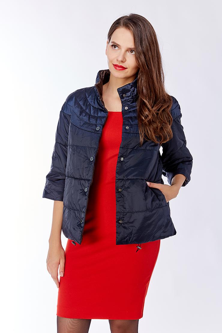 Легкая женская куртка с рукавом 3/4. Производитель: Laura Bianca, артикул: 22472